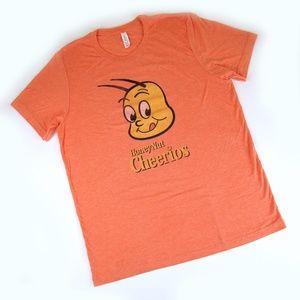 NWOT Orange Graphic T Shirt Large
